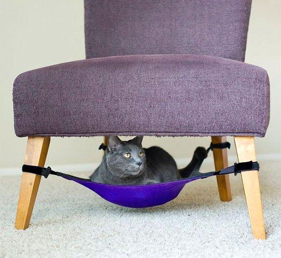 Лежанка для кошки своими руками фото 7