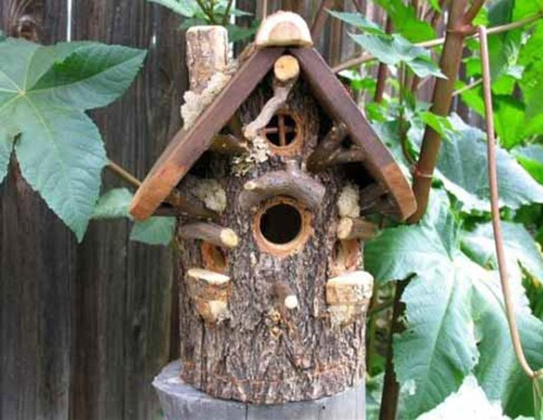 Домик для птичек своими руками из подручных материалов